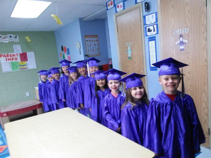 Small World Center West Valley Kinder Graduation