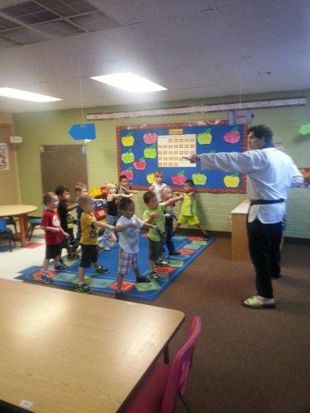 Small World Child Care Karate Lessons